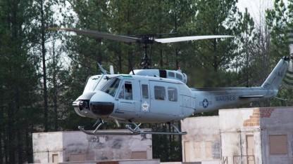 Autonom fliegende Bell UH-1: AACUS kann in verschiedene Luftfahrzeuge integriert werden.