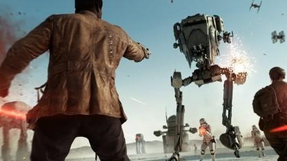 """Artwork vom Update """"Die Letzten Jedi"""" für Star Wars Battlefront 2."""
