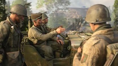 Mit der Entscheidung für das Szenario Zweiter Weltkrieg ist Call of Duty offenbar richtig gefahren.