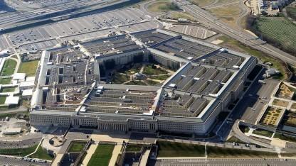 Ungefähr so dürfte das Pentagon aus Sicht eines niedrig fliegenden Ufos aussehen.