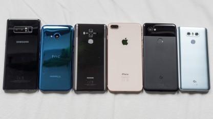 Smartphones des Jahres 2017