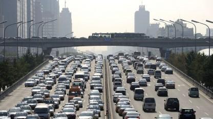 Stau in Peking: 60.000 Zulassungen für Elektroautos