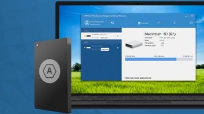 APFS lässt sich unter Windows 7, 8 und 10 auslesen.