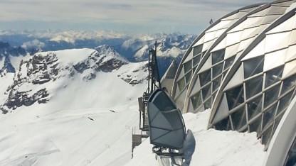 LTE auf der Zugspitze: Bild der Deutschen Telekom