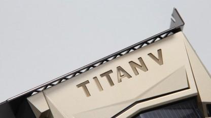 Grafikkarte: Tests der Titan V zeigen teils überragende Leistung