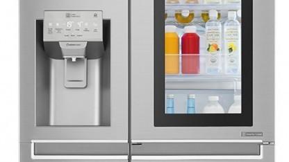Für LG bisher offenbar nicht klug genug: ein Kühlschrank.