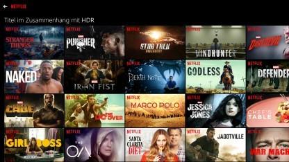 Auswahl an HDR-Inhalten