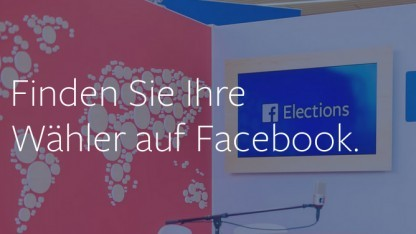 Facebook hilft beim Wahlkampf mit.