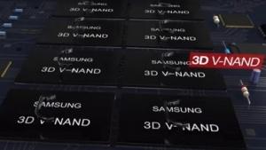 Samsung investiert viel in 3D-NAND-Flash.