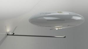 Miniluftschiff: Integrität des Bauwerks beeinträchtigen