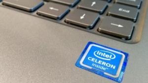 Der Intel-Inside-Sticker ist auf vielen Geräten zu sehen.