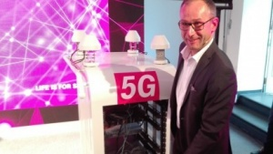 Bruno Jacobfeuerborn, hier noch Chief Technology Officer der Telekom