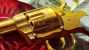 Den gibt's nicht zu kaufen: Der goldene Revolver für Red Dead Redemption 2 ist in GTA 5 versteckt.