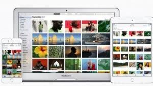 Bei der App Fotos ist optisch schon eine Vereinheitlichung erkennbar.