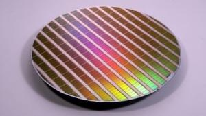 Wafer mit Flash-Chips