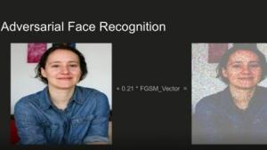 Das verfremdete Foto rechts wird von Facebook nicht mehr als Gesicht erkannt.
