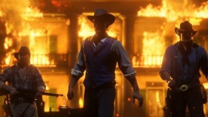 Für Red Dead Redemption 2 sind wir jetzt schon Feuer und Flamme.