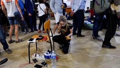 Funktionierende Mobiltelefone waren beim Unabhängigkeitsvotum in Katalonien unverzichtbar.