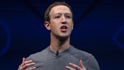 Mark Zuckerberg - hier bei einer Rede im Jahr 2017 - hat seine jährliche Herausforderung vorgestellt.