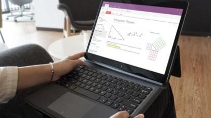 Das Corebook sieht dem Surface Pro schon sehr ähnlich.