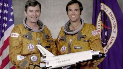 Astronaut John Young (l.): zwei Mal Gemini, zwei Mal Apollo, zwei Mal Spaceshuttle