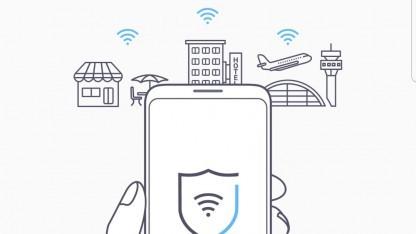 Samsung will mit einem VPN ungesicherte Netzwerke absichern.