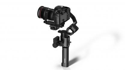 DJI Ronin-S: stabilisiert auch eine Vollformat-DSLR wie die Canon EOS 5D