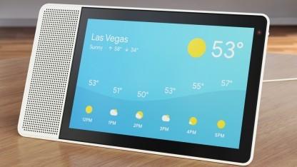 Smart Assistant läuft mit Google Assistant.