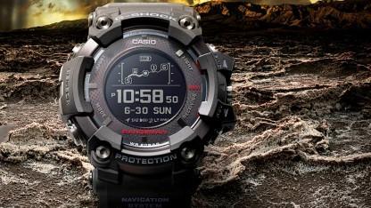 Casio G-Shock Rangeman verwendet solarunterstützte GPS-Navigation.