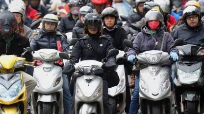 Scooter-Fahrer in Taipeh: 23 Millionen Einwohner, 14 Millionen Scooter