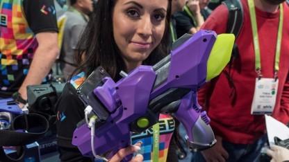 Der 6DoF Blaster von Merge VR