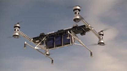 Octocopter von Boeing: neue Möglichkeiten für die autonome Auslieferung von Gütern