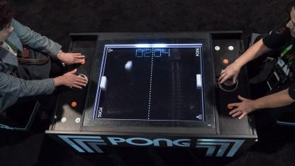 Der Pong-Tisch von Unis