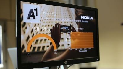 Test von LTE und Nokia