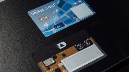 Die Wallet-Kreditkarte.