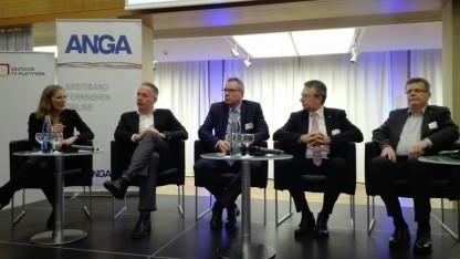 Auf dem Anga-Symposium Volldigitalisierung am 17. Januar 2018 in Berlin
