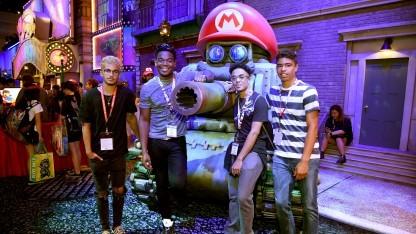 Besucher der Spielemesse E3 im Juni 2017 in Los Angeles