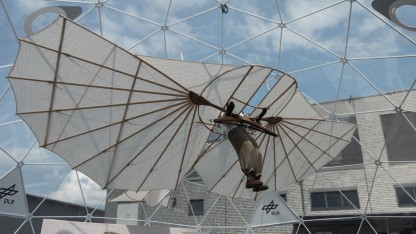 Nachbau von Otto Lilienthals Normalsegelapparat: Werkstoffe, Flügelprofile und Antriebstechnik