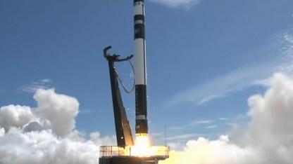 Der zweite Start einer Electron-Rakete war erfolreich.