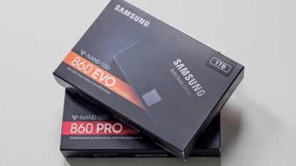 Samsungs 860 Evo und 860 Pro
