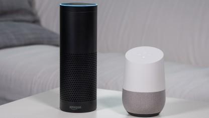 Amazons Alexa liegt vor dem Google Assistant.