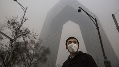 Schlechte Luft in Peking: zehn Millionen Kubikmeter saubere Luft