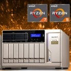 TS-x77: Qnaps NAS mit AMDs Ryzen-Prozessor ist verfügbar