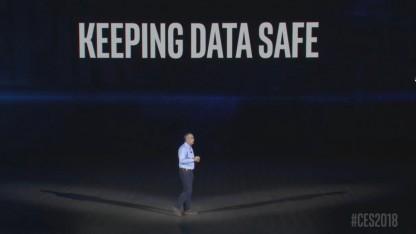 Brian Krzanich auf der CES 2018