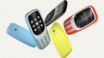 Das Nokia 3310 4G sieht aus wie das Nokia 3310 3G.