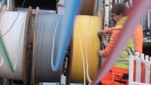 Glasfaser: Die Telekom will schneller werden.