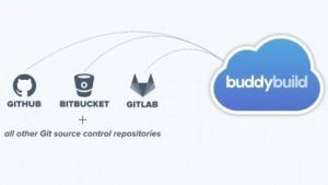 Buddybuild unterstützt Repositories von Github und anderen Anbietern.