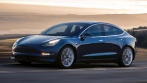 Tesla Model 3: Die Tesla-Aktie verlor leicht.
