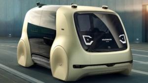 VWs selbstfahrendes Auto Sedric