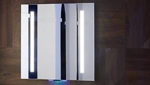 smart home alexa kommt in den lichtschalter und den badspiegel. Black Bedroom Furniture Sets. Home Design Ideas